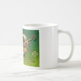 Victorian Vintage Retro Irish St. Patrick's Day Coffee Mug