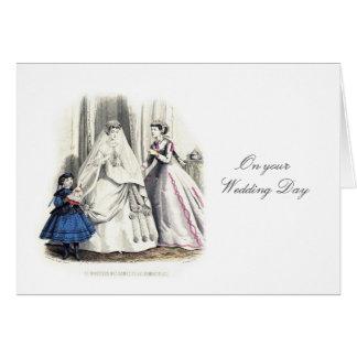 Victorian Wedding Card