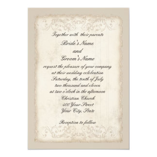 Victorian Wedding Invitation