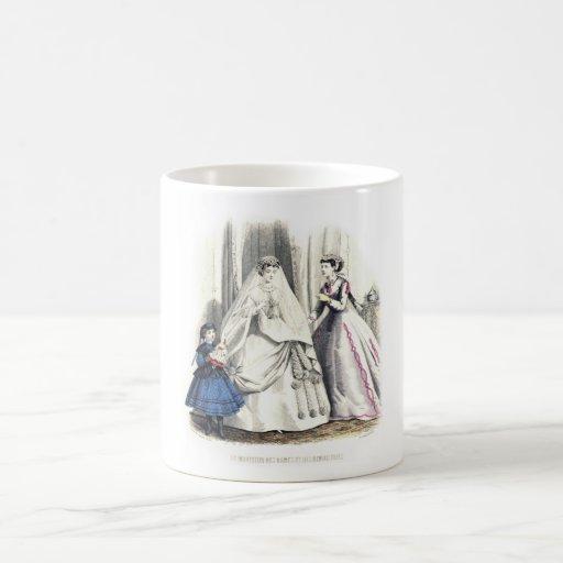 Victorian Wedding Mug Cup
