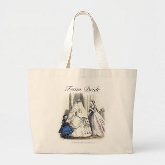 Victorian Wedding Tote_Bag Jumbo Tote Bag
