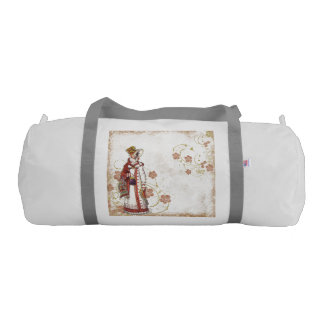 Victorian Woman Gym Bag