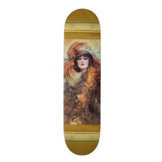 Victorian Woman Skateboard