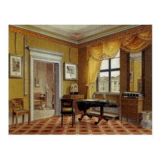 Victorian Yellow room with window Postcard