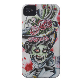 """victorian zombie 1"" Case-Mate iPhone 4 case"