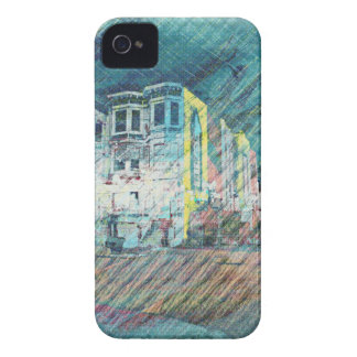 Victorians and Birds in San Francisco iPhone 4 Case