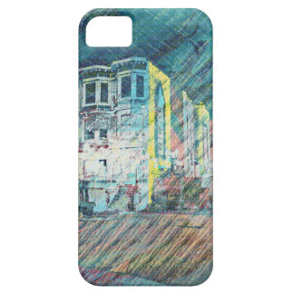 Victorians and Birds in San Francisco iPhone 5 Cover