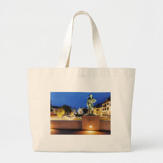 Victories miner Henner on the victory bank Large Tote Bag
