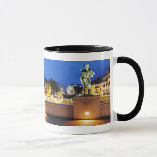 Victories miner Henner on the victory bank Mug