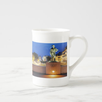 Victories miner Henner on the victory bank Tea Cup