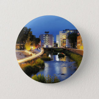 Victories victory banks to the blue hour 6 cm round badge
