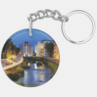 Victories victory banks to the blue hour key ring