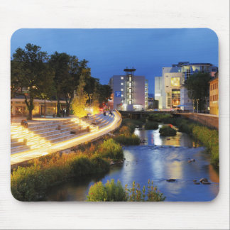 Victories victory banks to the blue hour mouse pad