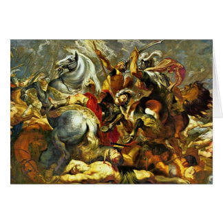 Victory And Death Of The Consul Decius Mus At The Card