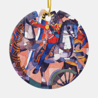 Victory battle by Aristarkh Lentulov Ceramic Ornament
