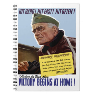 Victory Begins At Home -- Bull Halsey Note Book