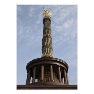Victory column Berlin Poster
