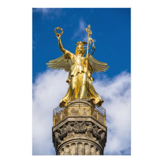 Victory Column in Berlin in Germany Art Photo