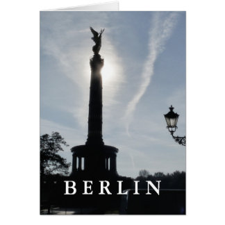 Victory-Column with street lamp 02.T.2, Berlin Card