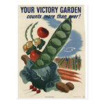 Victory garden poster, World War 2 1945