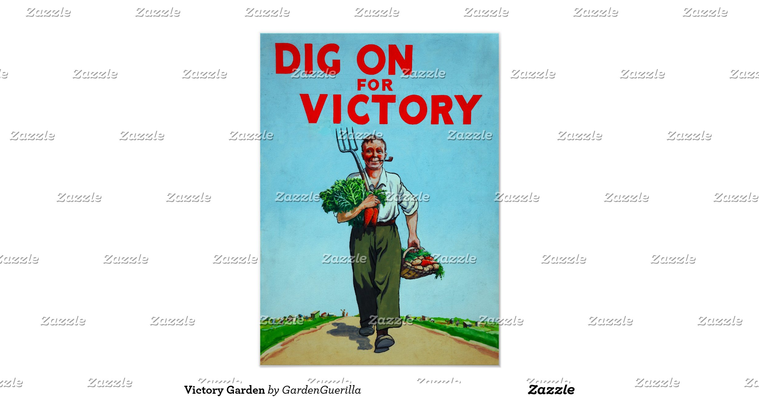 Victory Garden Posters Zazzle