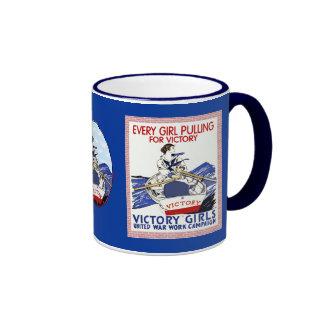 Victory Girls WPA Coffee Mugs