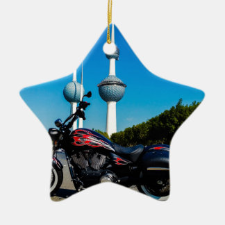 Victory High Ball at Kuwait Towers Ceramic Ornament