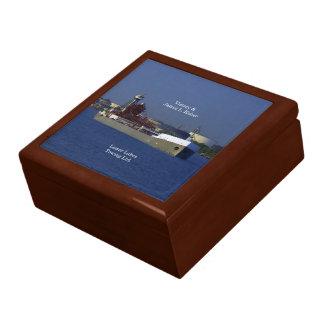 Victory & James L. Kuber keepsake box