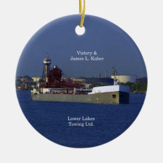 Victory & James L. Kuber ornament
