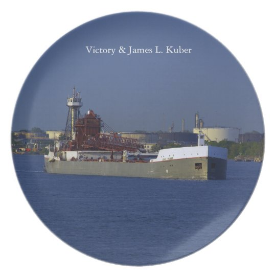 Victory & James L. Kuber plate