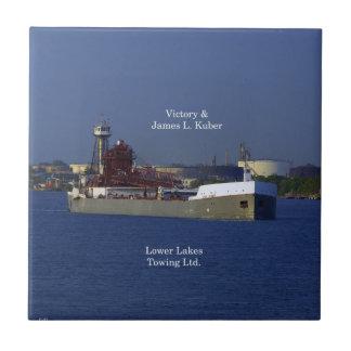 Victory & James L. Kuber tile