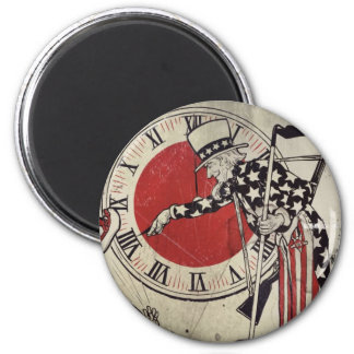 Victory Through Daylight Savings Time WWII Magnet