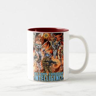 Victory Through Intelligence by Al Rio Coffee Mug