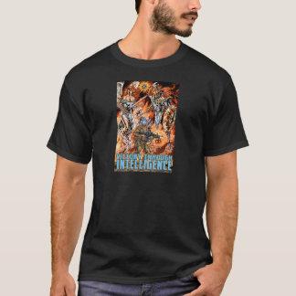 Victory Through Intelligence by Al Rio T-Shirt