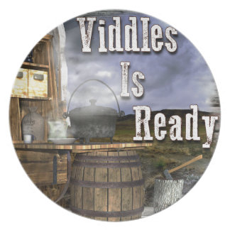 Viddles Is Ready Party Plate