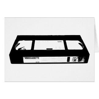 Video Cassette VHS Card