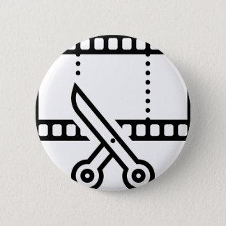 Video Cut 6 Cm Round Badge