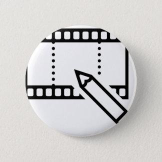 Video Editing 6 Cm Round Badge