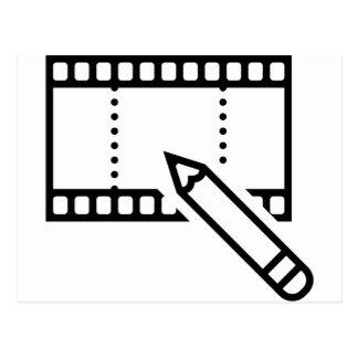 Video Editing Postcard