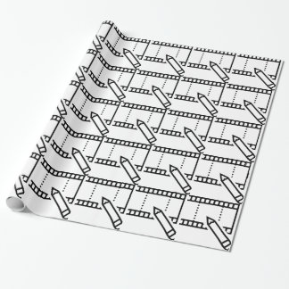 Video Editing Wrapping Paper