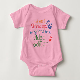 Video Editor (Future) Infant Baby T-Shirt