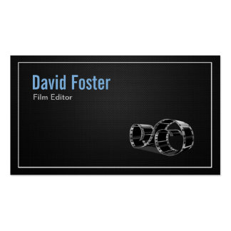 Video Film Editor Cutter Director Business Card
