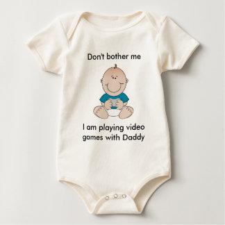 Video Game Baby Baby Bodysuit