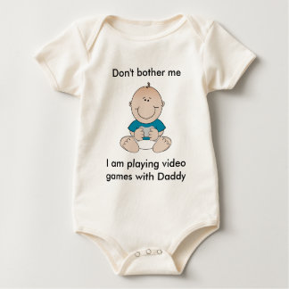 Video Game Baby Bodysuits