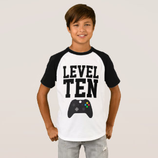 Video game birthday shirt