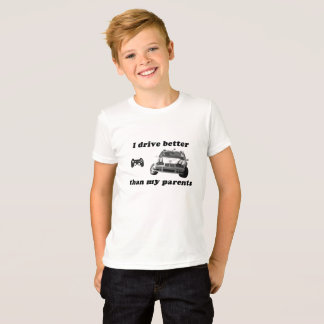 Video Game: Car Racing for kids T-Shirt