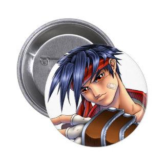 Video Game Fan Art Pinback Button