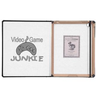 Video Game Junkie iPad Folio Cases