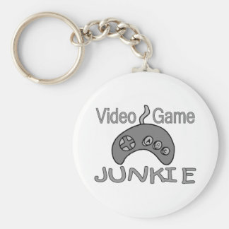 Video Game Junkie Key Chains