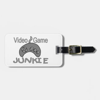 Video Game Junkie Luggage Tags